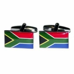 South Africa Flag Cufflinks (BOCF1)