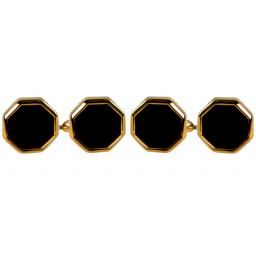 Onyx Octagon Chain Cufflinks A Great High Quality Product