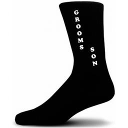 Vertical Design Grooms Son Black Wedding Socks Adult size UK 6-12 Euro 39-49