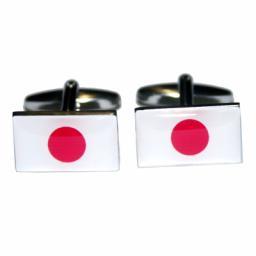 Japan Flag Cufflinks (BOCF19)