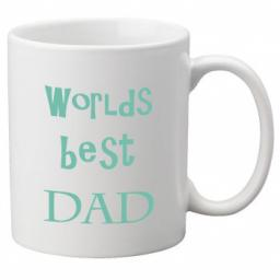 Worlds Best Dad (Blue) 11oz Mug