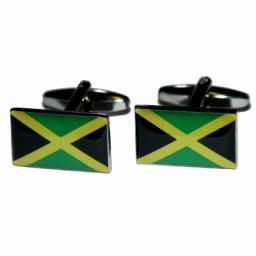 Jamaica Flag Cufflinks (BOCF41)