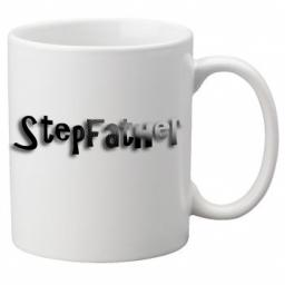 Stepfather - 11oz Mug, Great Novelty Mug, Celebrate Your Wedding In Style Great Wedding Accessory