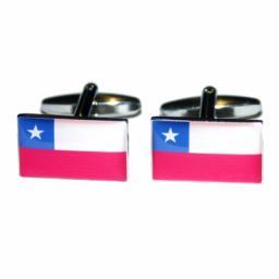 Chile Flag Cufflinks (BOCF32)