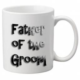 Father of the Groom - 11oz Mug, Great Novelty Mug, Celebrate Your Wedding In Style Great Wedding Accessory