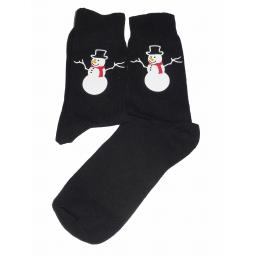 Cute Snowman Socks - Perfect for Christmas or Secret Santa, Great Novelty Gift Socks Luxury Cotton Novelty Socks Adult size UK 6-12 Euro 39-49