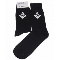 Masonic Socks with ''G'' Great Novelty Gift Socks Luxury Cotton Novelty Socks Adult size UK 6-12 Euro 39-49
