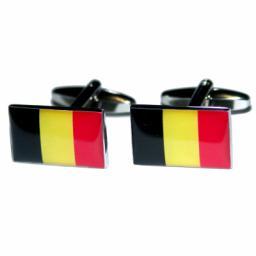 Belgium Flag Cufflinks (BOCF33)