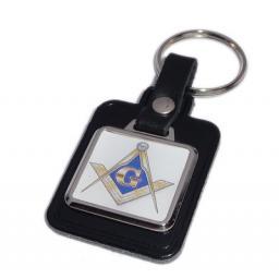 Masonic Key Ring - Blue & Gold
