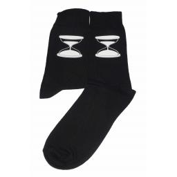 Sand Timer Socks, Great Novelty Gift Socks Luxury Cotton Novelty Socks Adult size UK 6-12 Euro 39-49