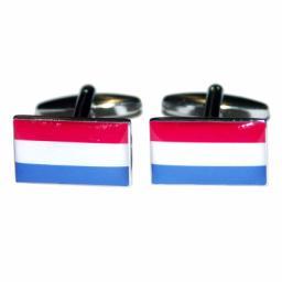 Netherlands Flag Cufflinks (BOCF17)