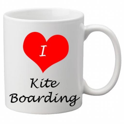 I Love Kite Boarding 11oz Ceramic Mug