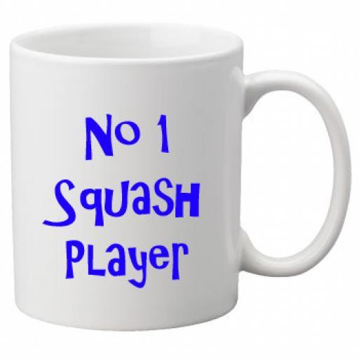 No 1 Squash Player, 11oz Ceramic Mug