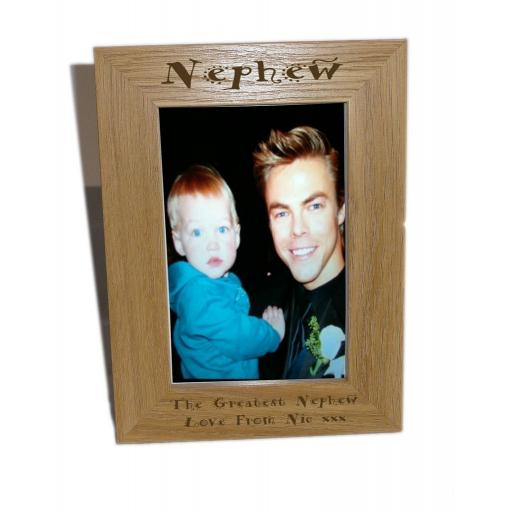 nephew picture frame