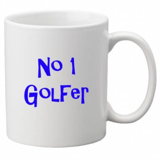 No 1 Golfer, 11oz Ceramic Mug