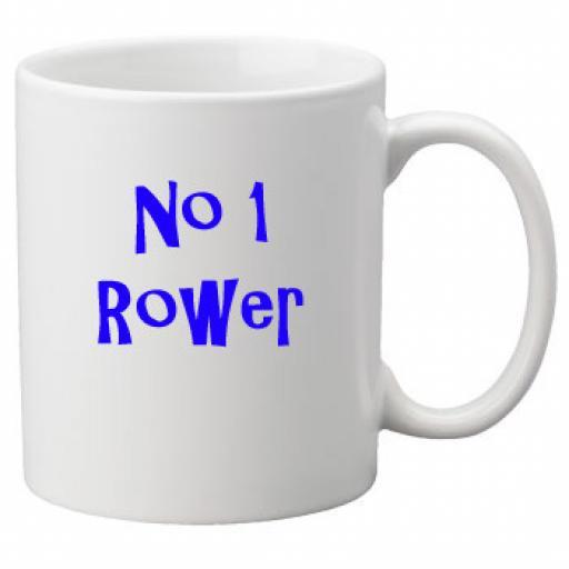 No 1 Rower, 11oz Ceramic Mug
