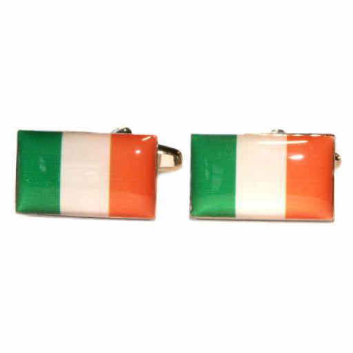 Ireland Flag Cufflinks (BOCF57)