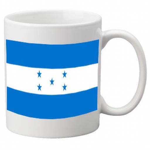 Honduras Flag Ceramic Mug 11oz Mug, Great Novelty Mug