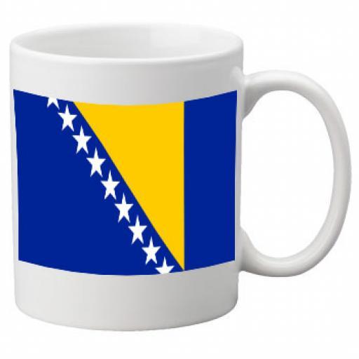 Bosnia & HerzegovinaFlag Ceramic Mug 11oz Mug
