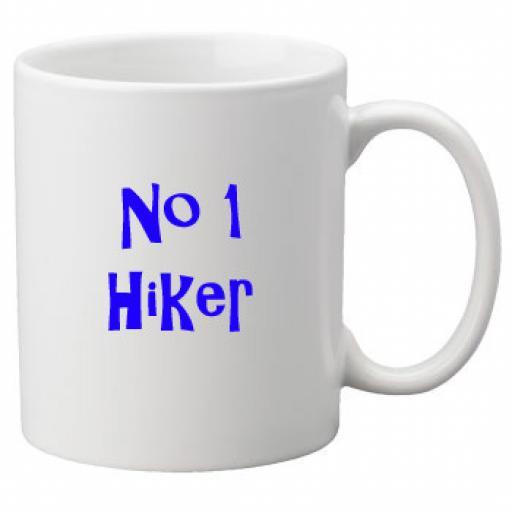 No 1 Hiker, 11oz Ceramic Mug