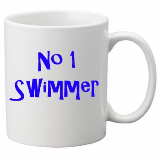 No 1 Swimmer, 11oz Ceramic Mug