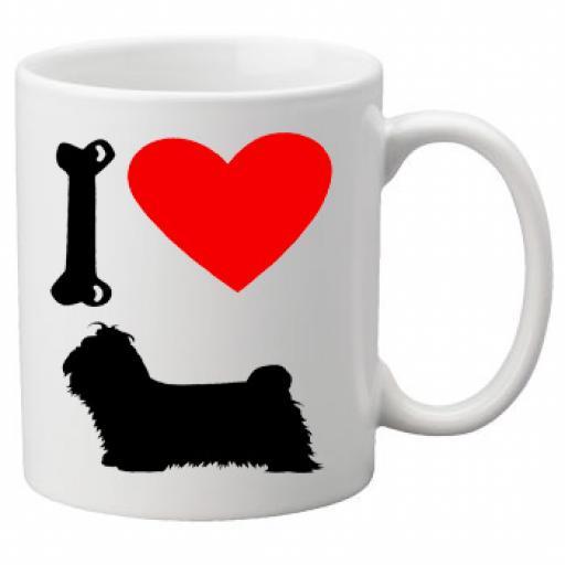I Love Shi Tzu Dogs on a Quality Mug, Birthday or Christmas Gift Great Novelty 11oz Mug