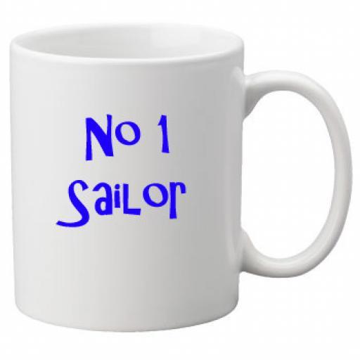 No 1 Sailor, 11oz Ceramic Mug