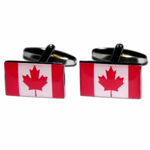 Canada Flag Cufflinks (BOCF35)