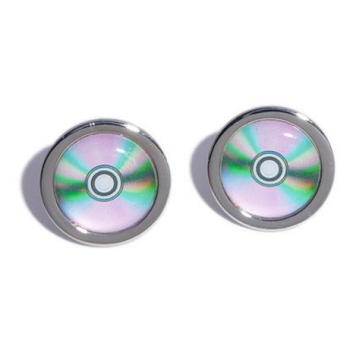 CD cufflinks