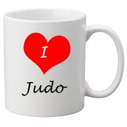 I Love Judo 11oz Ceramic Mug