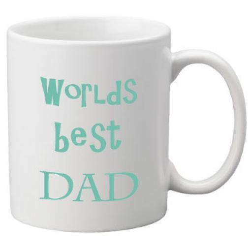 Worlds Best Dad (Blue) 11oz Mug