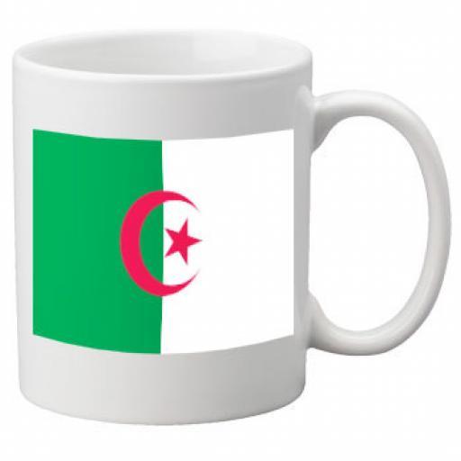 Algeria Flag Ceramic Mug 11oz Mug, Great Novelty Mug