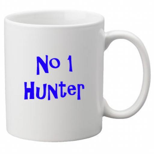 No 1 Hunter, 11oz Ceramic Mug