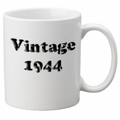 Vintage 1944 - 11oz Mug, Great Novelty Mug, Celebrate Your 70th Birthday