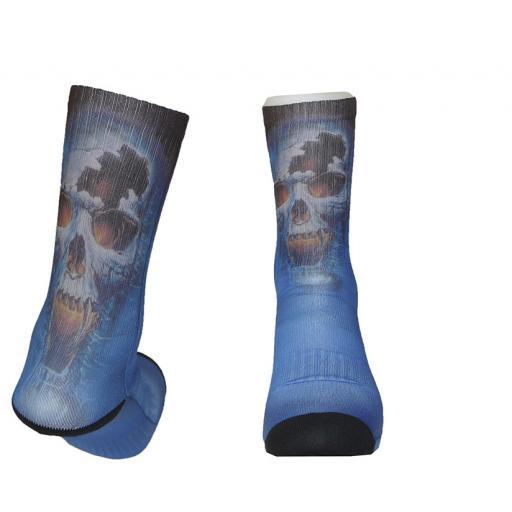 Skull Design Novelty Socks - Great Novelty Socks Mens, Ladies Socks (Adult Size 6-12)
