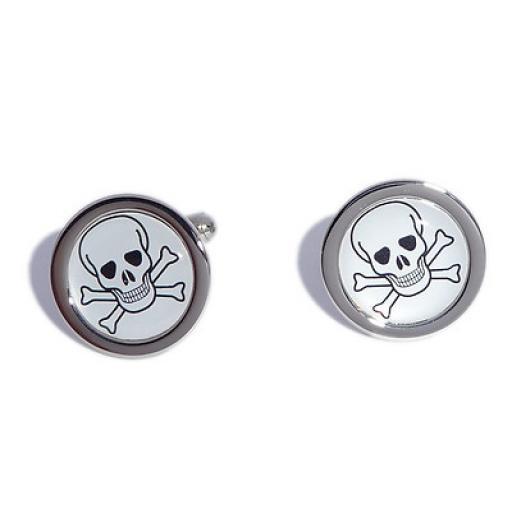 Skull & Cross Bones cufflinks