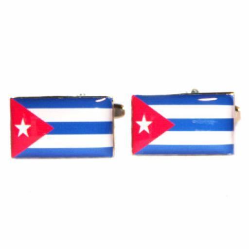 Cuba Flag Cufflinks (BOCF51)