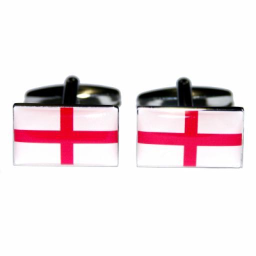 England Flag Cufflinks (BOCF9)