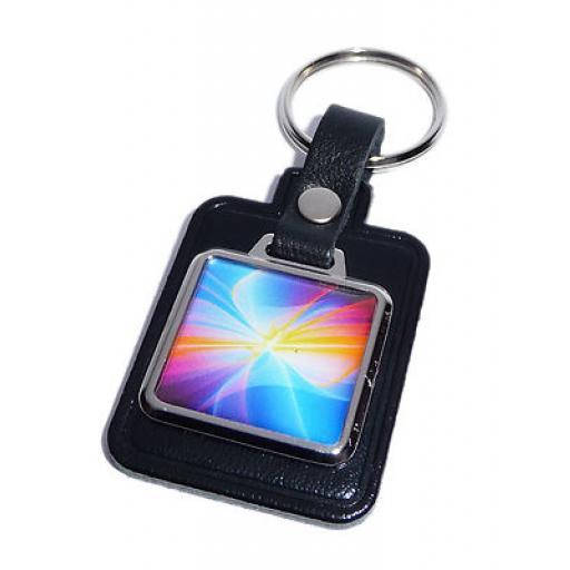 Multi Coloured Key Ring