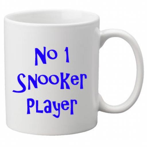 No 1 Snooker Player, 11oz Ceramic Mug