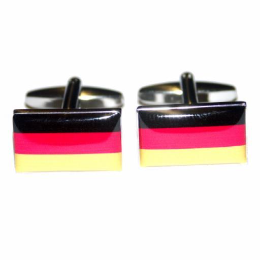 Germany Flag Cufflinks (BOCF13)