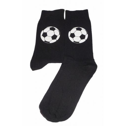 Football Socks - Perfect for Footy Fans, Great Novelty Gift Socks Luxury Cotton Novelty Socks Adult size UK 6-12 Euro 39-49