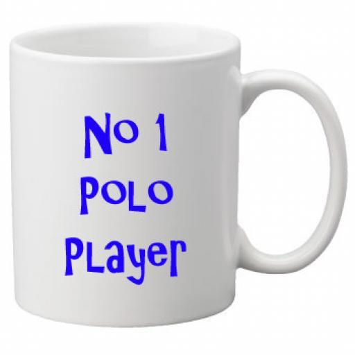 No 1 Polo Player, 11oz Ceramic Mug