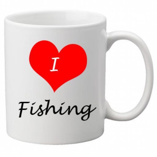 I Love Fishing 11oz Ceramic Mug