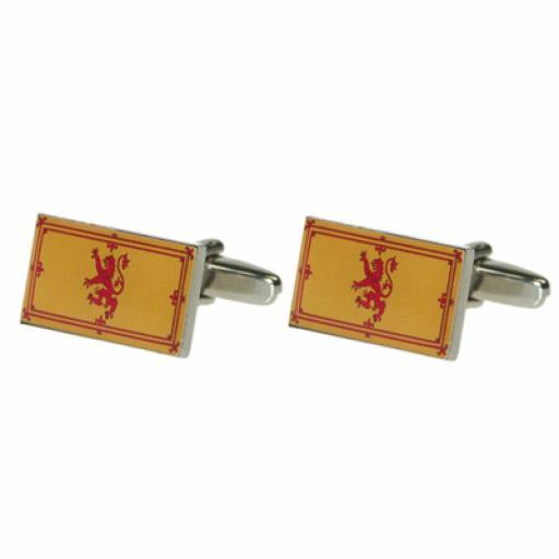 Rampant Lion Cufflinks (BOCF65)