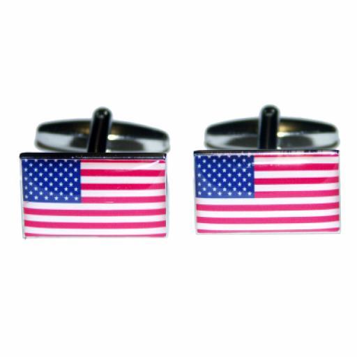 USA Flag Cufflinks (BOCF10)