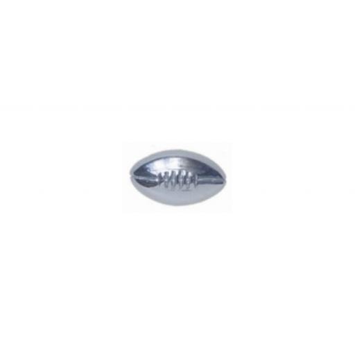 Rugy Ball Tie Tac - Sterling Silver with metal fittings All our cufflinks come presented in a gift box