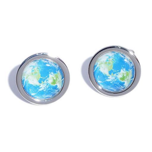 Planet Earth cufflinks
