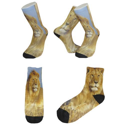 Personalised Socks Make Fancy Footwork - Design Your Own Novelty Socks-Mens Sock