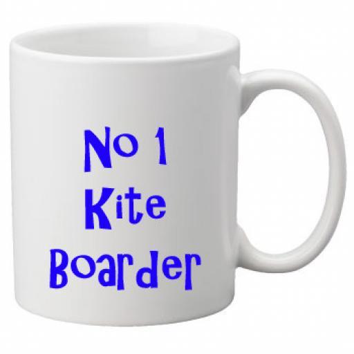 No 1 Kite Boarder, 11oz Ceramic Mug
